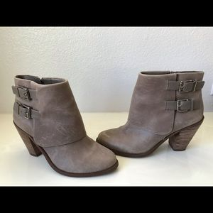 Jessica Simpson Faux Leather Booties